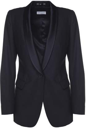 Dries Van Noten Brisa Satin-lapel Wool Tuxedo Jacket
