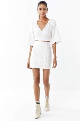 Third Form Mini Wrap Dress