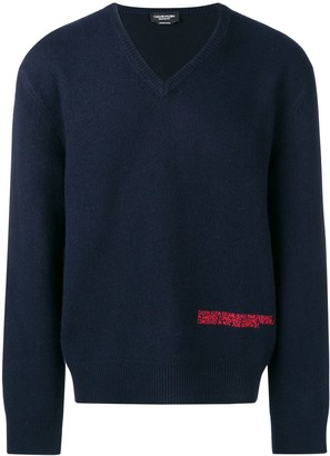 Calvin Klein embroidered logo sweater