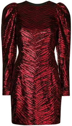 Alexandre Vauthier structured sleeves dress
