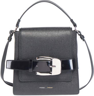 Proenza Schouler Buckle Trapeze Grainy Shoulder Bag