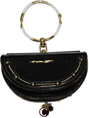 Chloé Bracelet Nile Navy Patent Leather Handbag