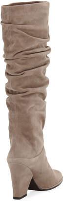 Stuart Weitzman Smashing Slouchy Suede Knee Boots