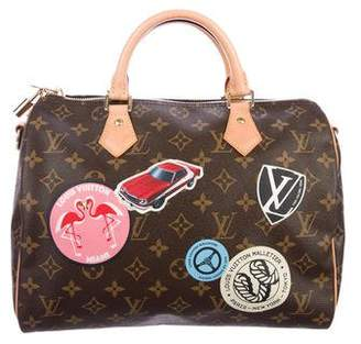 Louis Vuitton 2016 Monogram World Tour Speedy Bandouliére 30