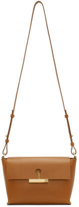 Sophie Hulme Tan The Pinch Crossbody Bag