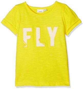 Name It Baby Girls' Nmfjosephine Ss Top T-Shirt