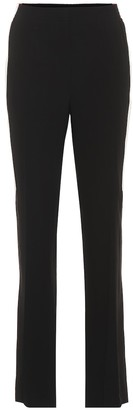Givenchy High-rise straight crepe pants