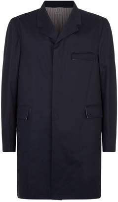 Thom Browne Chesterfield Unconstructed Overcoat