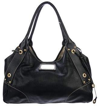 Car Shoe Leather Handle Bag