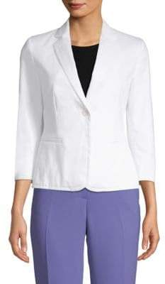 Max Mara Zambra Three-Quarter Sleeve Blazer