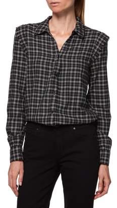 Paige Alia Plaid Shirt