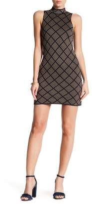 Romeo & Juliet Couture Sleeveless Print Knit Dress