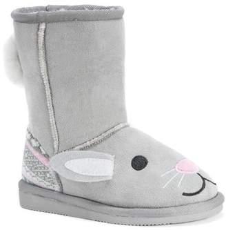 Muk Luks Faux Fur Lined Boot (Toddler & Little Kid)