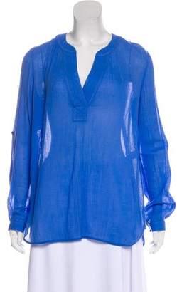 Diane von Furstenberg Etsi Long Sleeve Blouse