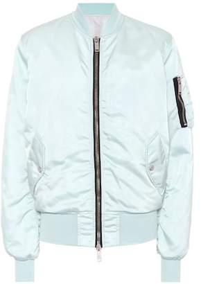 Unravel Satin bomber jacket