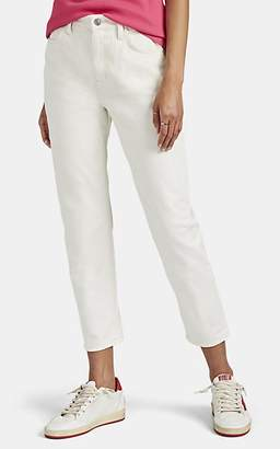 "Current/Elliott Women's ""The Vintage Cropped"" Slim Jeans - White"