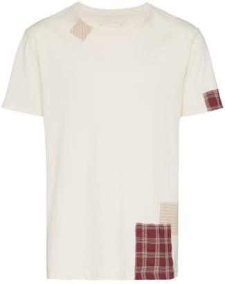 78 Stitches Contrast Patchwork T-Shirt