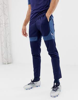 Puma Soccer Training Pants In Navy 655795-03