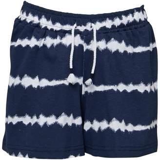 Board Angels Girls Tie Dye Effect Shorts Navy
