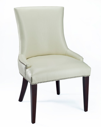 "Horchow ""Leticia"" Leather Dining Chair"