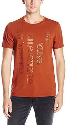 GUESS Men's Worldwide T-Shirt