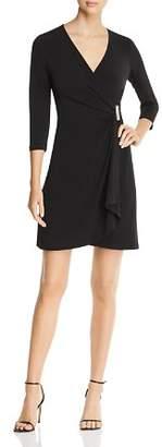 Calvin Klein Faux-Wrap Twist Dress - 100% Exclusive