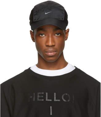 Nike Black A-Cold-Wall* Edition Onyx Dual Nylon Cap