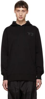 Y-3 Black Classic Logo Hoodie