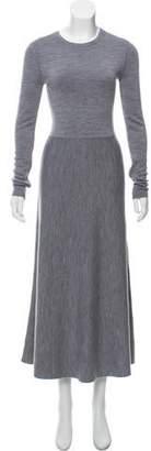 Gabriela Hearst Mélange Flared Dress