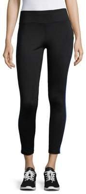 Calvin Klein Side Stripe Slim-Fit Stretch Leggings