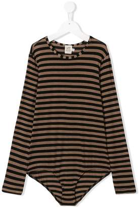 Caffe Caffe' D'orzo striped bodysuit
