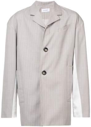 Chin Mens Asymmetric suit jacket