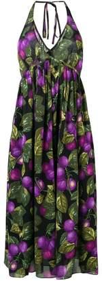 Marc Jacobs floral halterneck midi dress