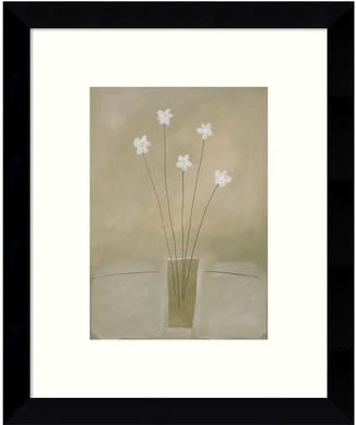 Amanti Art Harmony Floral Framed Wall Art