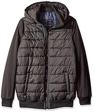 f635b1776dd Tommy Hilfiger Men s Big   Tall Nylon Puffer Bomber Jacket