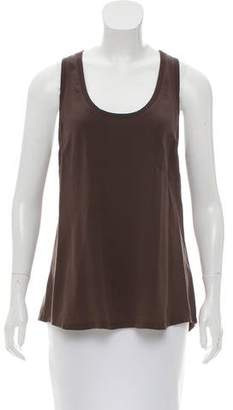 Joie Sleeveless Silk Top