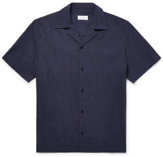 Saturdays NYC Camp-Collar Cotton-Poplin Shirt