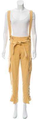 Marni High-Rise Suspender Pants w/ Tags