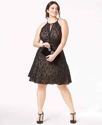 Womens Plus Little Black Dress ShopStyle