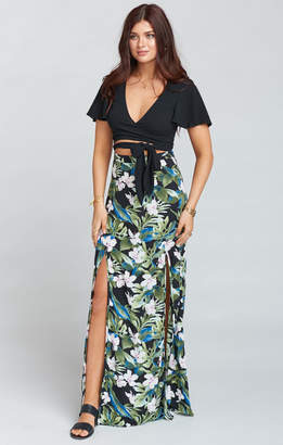 Show Me Your Mumu Mick Double Slit Skirt ~ Monet on Vacay