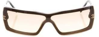 Chanel CC Shield Sunglasses