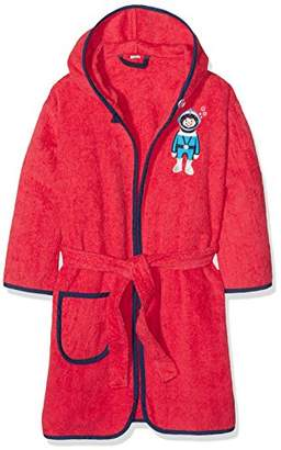 Playshoes Boy's Terry Bathrobe Diver Dressing Gown,(Manufacturer Size:134/140)