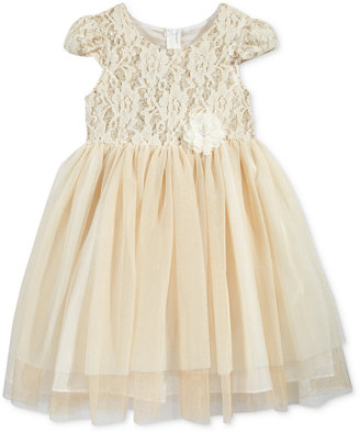 Bonnie Jean Little Girls' Floral-Lace Special Occasion Dress $74 thestylecure.com