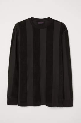 H&M Striped top - Black