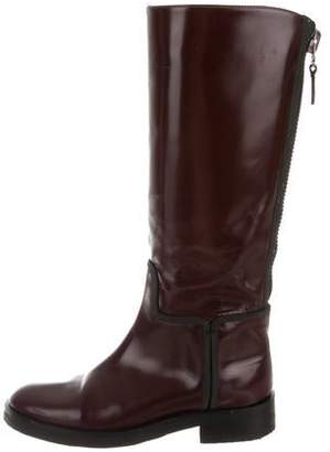 Alejandro Ingelmo Tall Patent Leather Boots