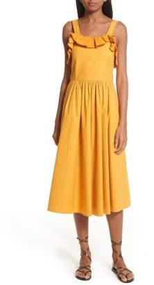 Sea Sunrise Lace-Up Dress