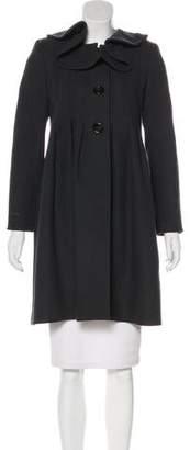 Behnaz Sarafpour Wool Knee-Length Coat