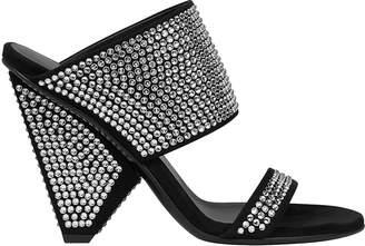 c4e918a280c5 Balmain Lory Crystal Embellished Sandals