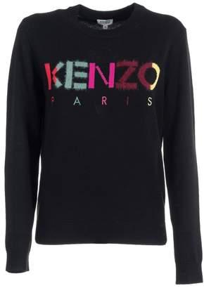 Kenzo Knitted Logo Jumper