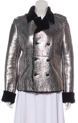 Each X Other Metallic Shearling Jacket